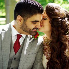 Erica & Rishi. Bombay Palace wedding. Brampton